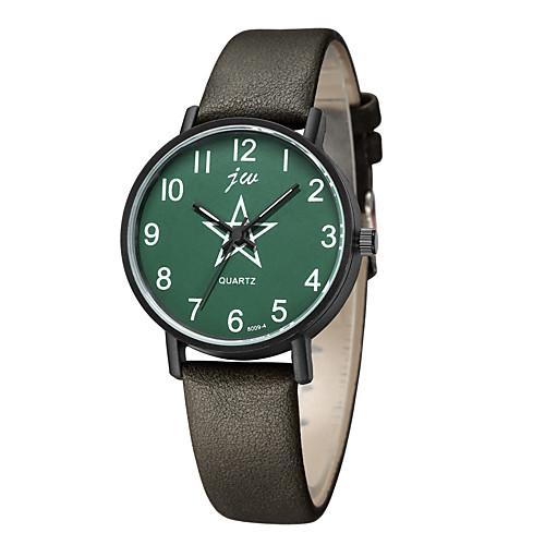 Women's Quartz Watches Fashion Black Blue PU Leather Chinese Quartz WhiteCoffee Black Blue Casual Watch Analog One Year Battery Life