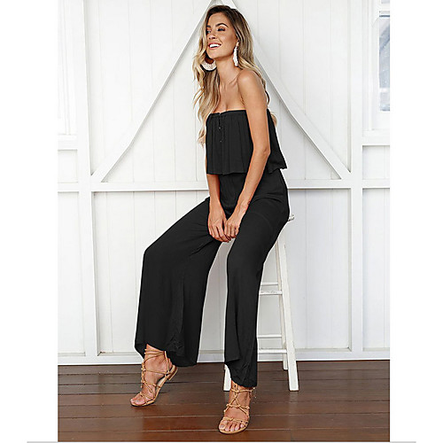 2020 SUMMMER Casual Loose Chiffon Jumpsuit