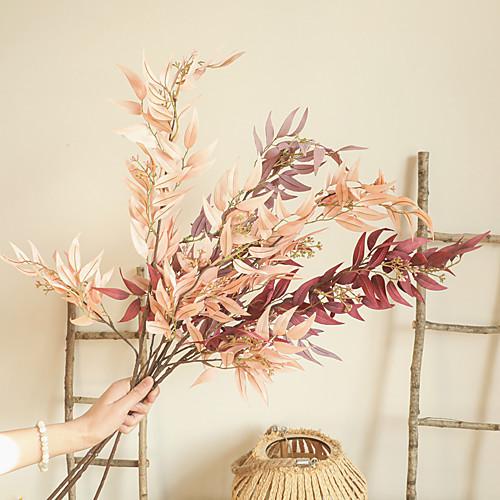 Artificial Plants Leaves Tabletop Decor Wedding Party Decorative Simulation Flowers 1 Piece