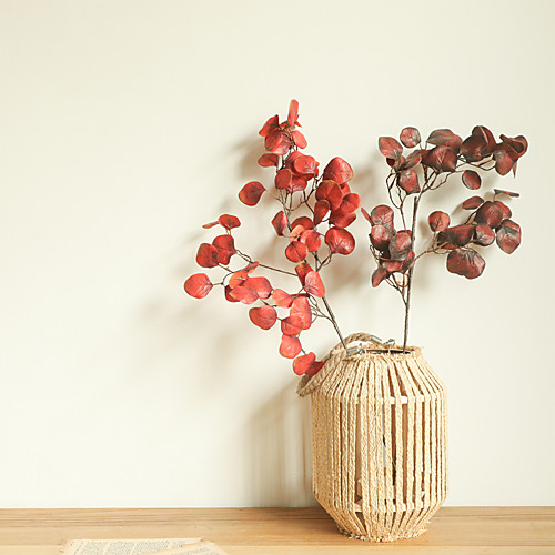 Artificial Leaves Home Decor Wedding Party Artificial Plants Tabletop Display Simulation Leaves 1 Piece