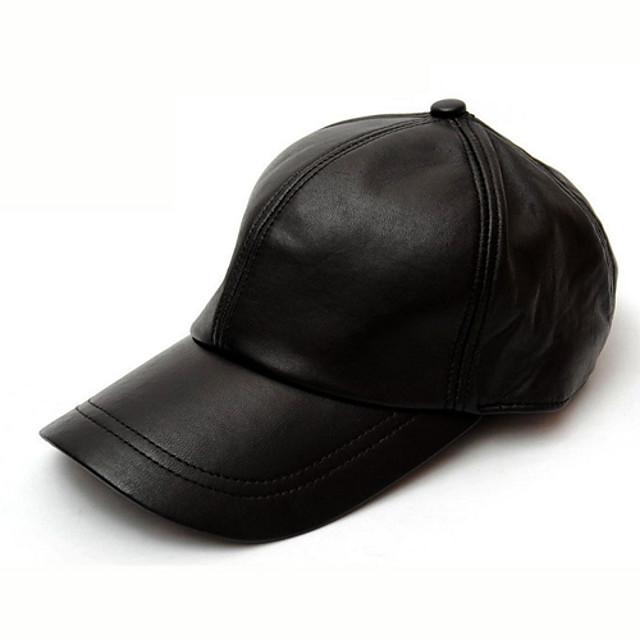 Sheepskin Baseball Cap