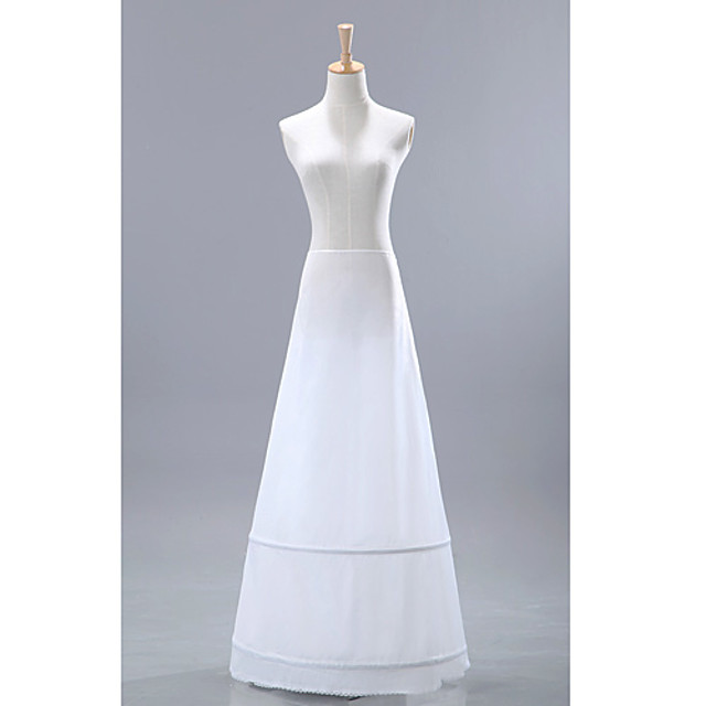 Wedding / Special Occasion / Party / Evening Slips Nylon / Tulle Floor-length A-Line Slip / Classic & Timeless with