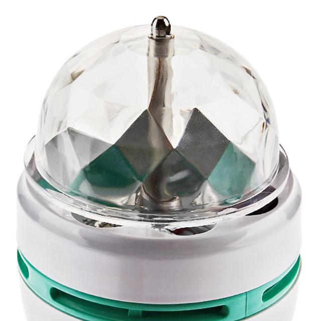 270 lm E26 / E27 LED Globe Bulbs 3 LED Beads High Power LED Sound-Activated RGB 85-265 V / # / #