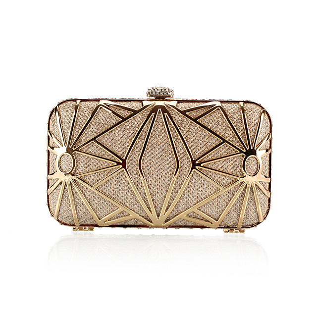 Fashion Satin With Metal Evening Handbags/ Clutches More Colors Available
