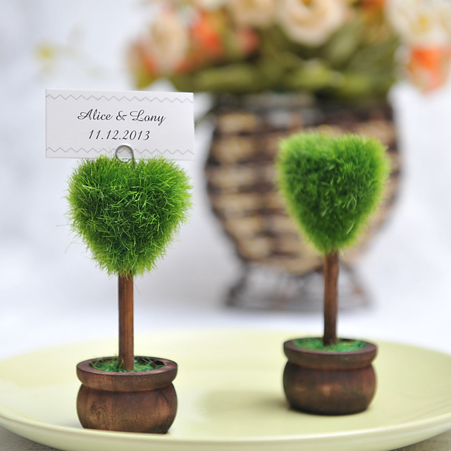 Place Card Holders Standing Style Poly Bag 4 pcs