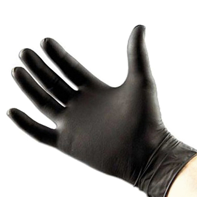 100 pcs High Quality Tattoo & Body Art Black Disposable Tattoo Latex Gloves Available Size Accessories