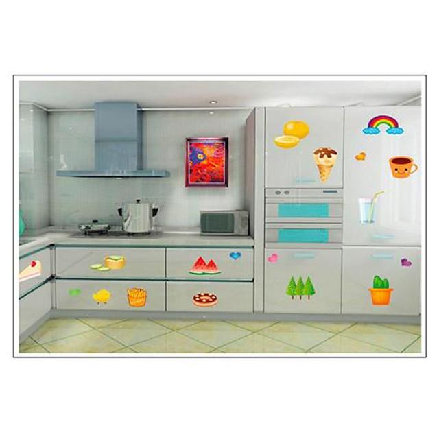Фрукты и овощи Pattern Наклейки на стены