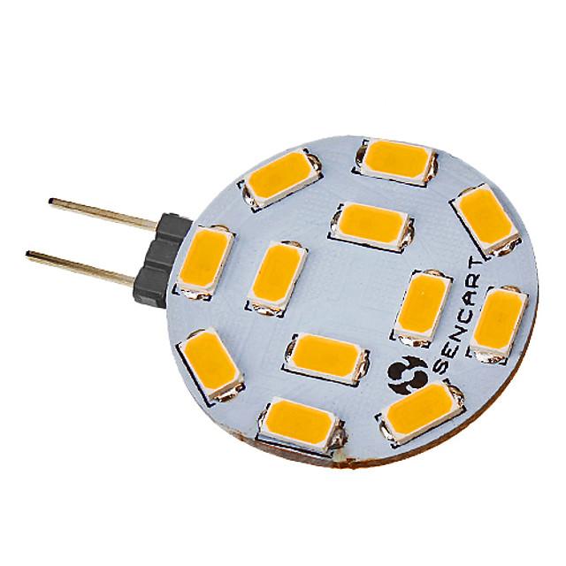 1pc 5 W Faretti LED 550-600 lm G4 12 Perline LED SMD 5730 Bianco caldo 220-240 V