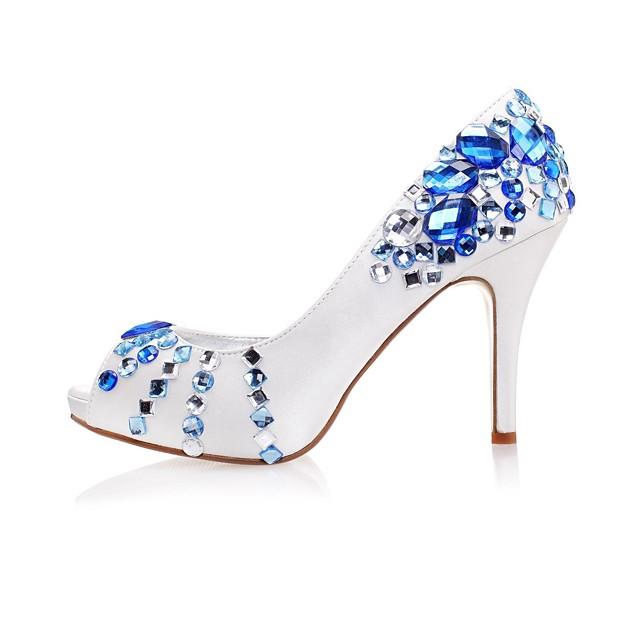 FemininoPlataforma-Plataforma-Azul-Cetim-Casamento Festas & Noite