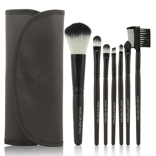 Professional Makeup Brushes Makeup Brush Set 7pcs Limits Bacteria Synthetic Hair / Artificial Fibre Brush Makeup Brushes for Makeup Brush Set