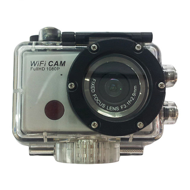 F21 Sports Action Camera Gopro Gopro & Accessories Outdoor Recreation vlogging Waterproof / WiFi / USB 32 GB 5 mp 3264 x 2448 Pixel Universal CMOS H.264 50 m