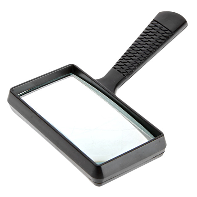 5x Rectangle Handheld Magnifying Gl