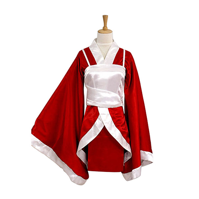 Inspired by LOL Akari Video Game Cosplay Costumes Cosplay Suits / Kimono Patchwork Long Sleeve Vest Kimono Coat Costumes