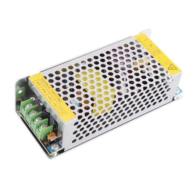 High Quality 12V 10A 120W Constant Voltage AC/DC Switching Power Supply Converter(110-240V to DC12V)