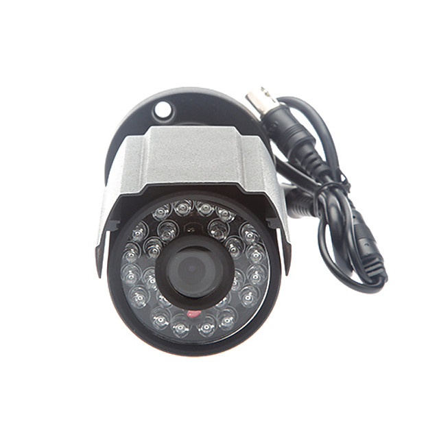 Outdoor Security Cameras with Night Vision 420TVL 1/4 Inch 3.6mm Lens CMOS NTSC PAL CCTV Camera for Security Surveillance System