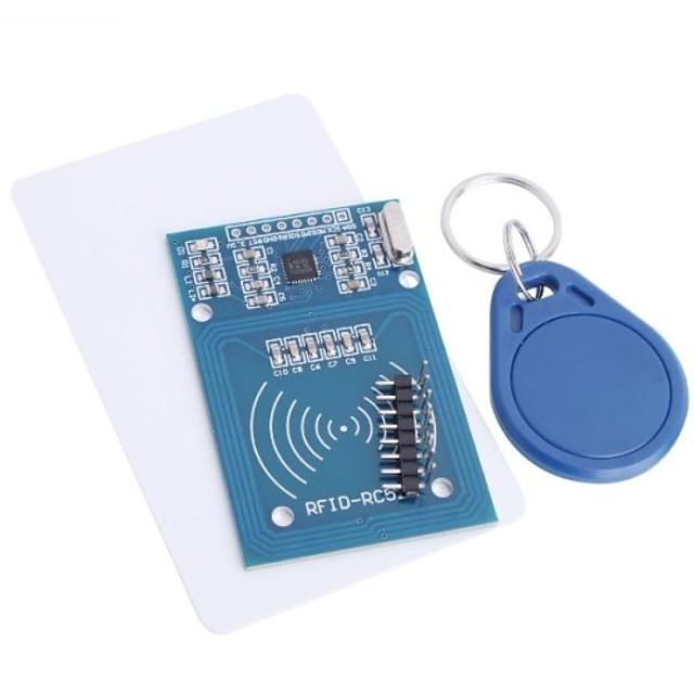 rfid rc522 rfid מודול rc522 ערכות s50 13.56 mhz 6cm עם תגי spi לכתוב& לקרוא פטל pi - -