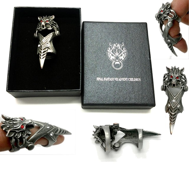 Jewelry Inspired by Final Fantasy Cosplay Anime / Video Games Cosplay Accessories Ring Alloy Men's 855