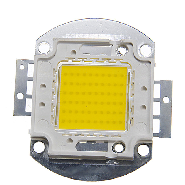 ZDM 1PC DIY 60W 6000-7000LM  Naturally White 4000-4500K  Light Integrated LED Module (DC33-35V 1.5A) Street Lamp for Projecting Light  Gold Wire Welding of Copper Bracket