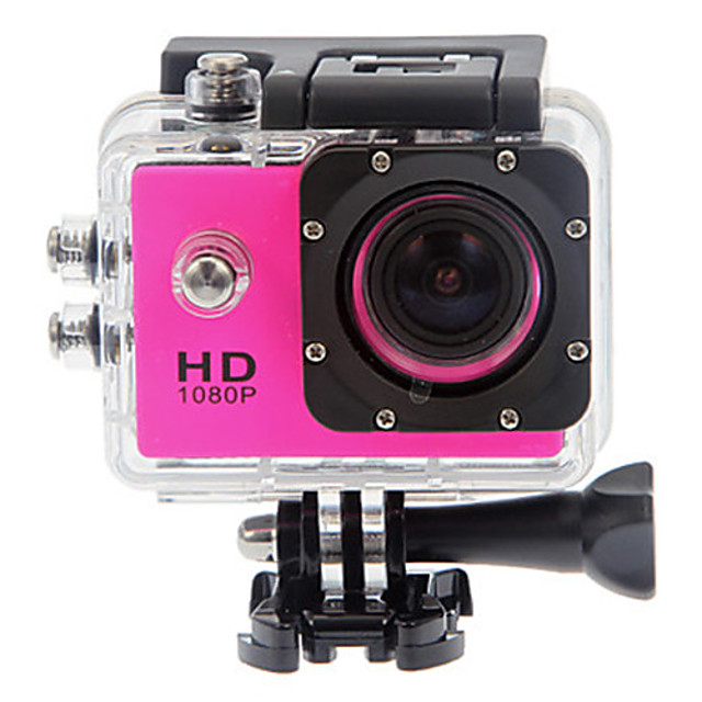 SJ4000 Sports Action Camera Gopro vlogging Waterproof / Anti-Shock / All in One 32 GB 12 mp 4000 x 3000 Pixel Diving / Surfing / Universal 1.5 inch CMOS 30 m