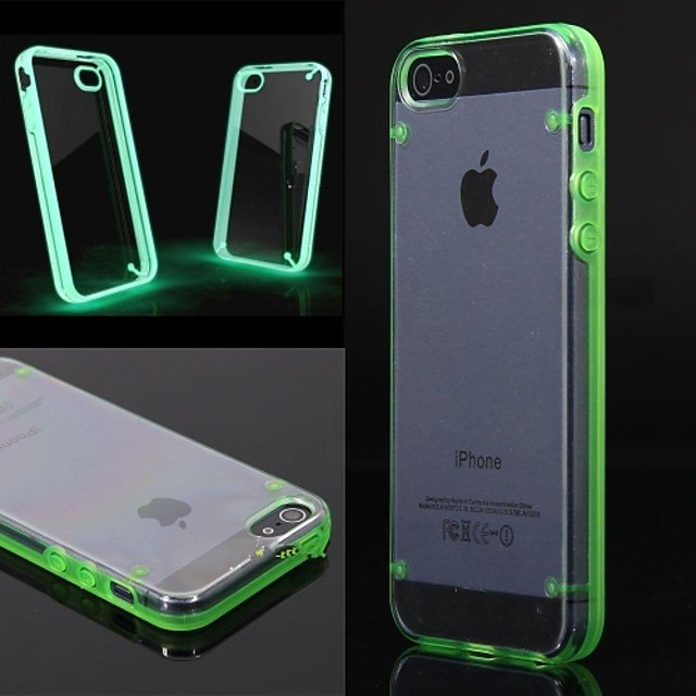 Coque Pour iPhone 5 iPhone SE / 5s / iPhone 5 Lampe LED Allumage ...