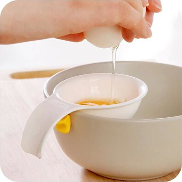 Mini Egg Yolk White Separator With Silicone Holder Egg Separator Tool kitchen