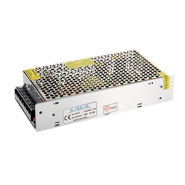 1PC Output 12V DC 12.5A Max 150W Watt Max AC/DC Switching Power Supply Converter (AC110-220V to DC12V)