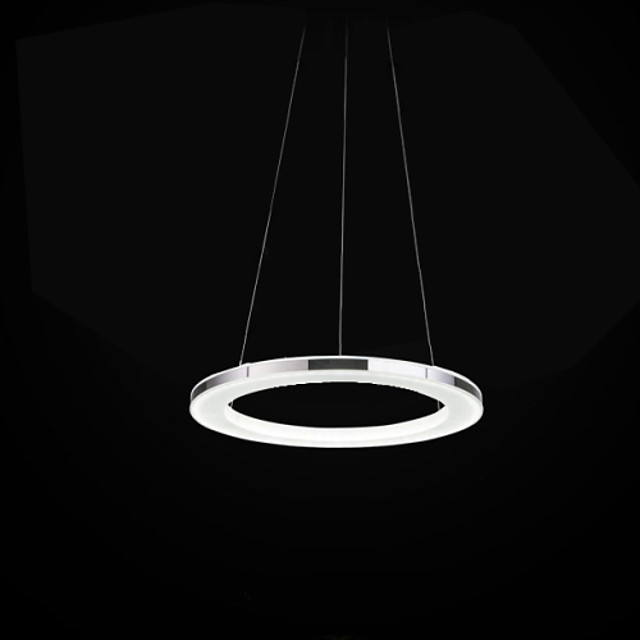 1-Light UMEI™ 19 cm (8 inch) Bulb Included / LED Chandelier Metal Acrylic Electroplated Modern Contemporary 90-240V