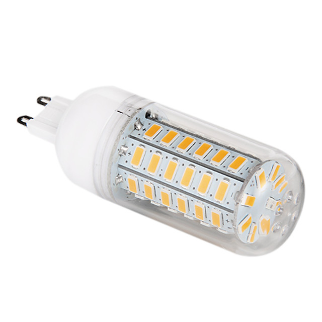 12 W LED Corn Lights 1200 lm G9 T 56 LED Beads SMD 5730 Warm White 220-240 V / #