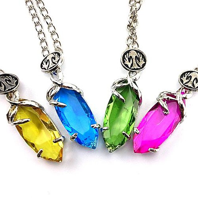 Jewelry Inspired by Final Fantasy Yuna Anime / Video Games Cosplay Accessories Necklace Artificial Gemstones / Alloy Women's 855