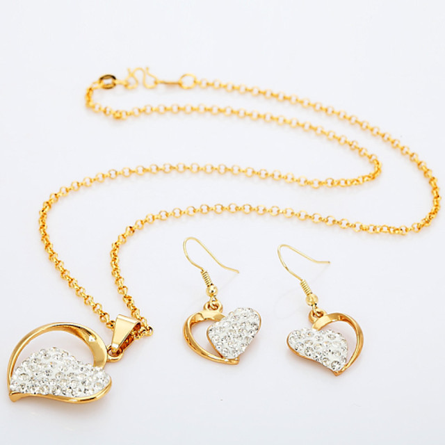 18ct Gold Plated Personalized Custom Name Necklace Heart Shaped Kigu Elena