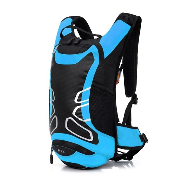 12 L Bike Hydration Pack & Water Bladder Waterproof Moistureproof Dust Proof Bike Bag Polyester Nylon Bicycle Bag Cycle Bag Swimming Camping / Hiking Football / Soccer