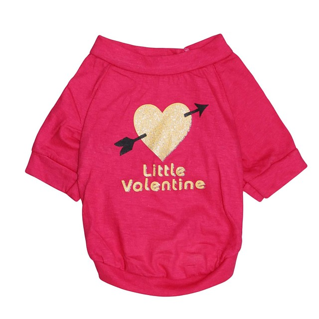Cat Dog Shirt / T-Shirt Dog Clothes Puppy Clothes Dog Outfits Red Rose Costume for Girl and Boy Dog Cotton XS S M L