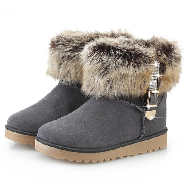 Women's Winter Boots Velvet Ski / Snowboard Anti-Slip Fall Winter
