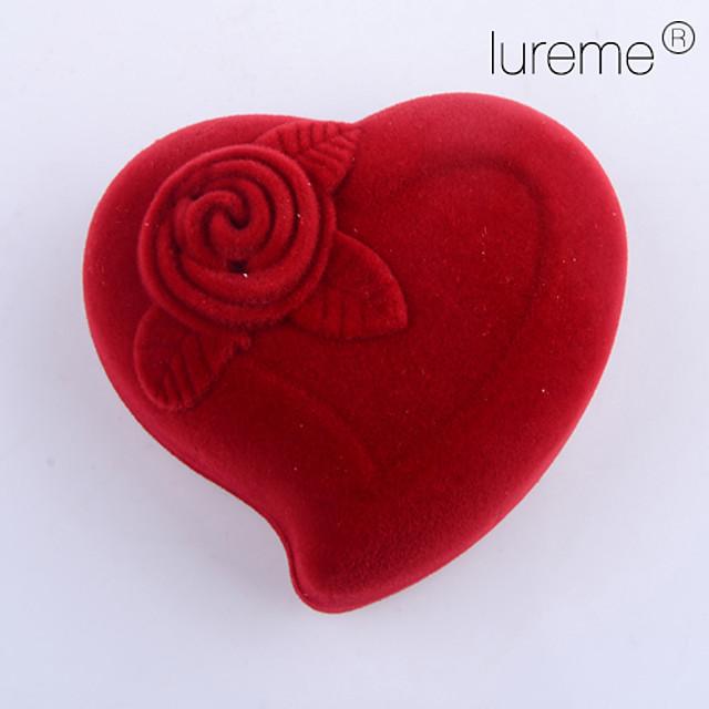 Roses Jewelry Boxes - Trendy Red 5.5 cm 4 cm 4 cm / Women's