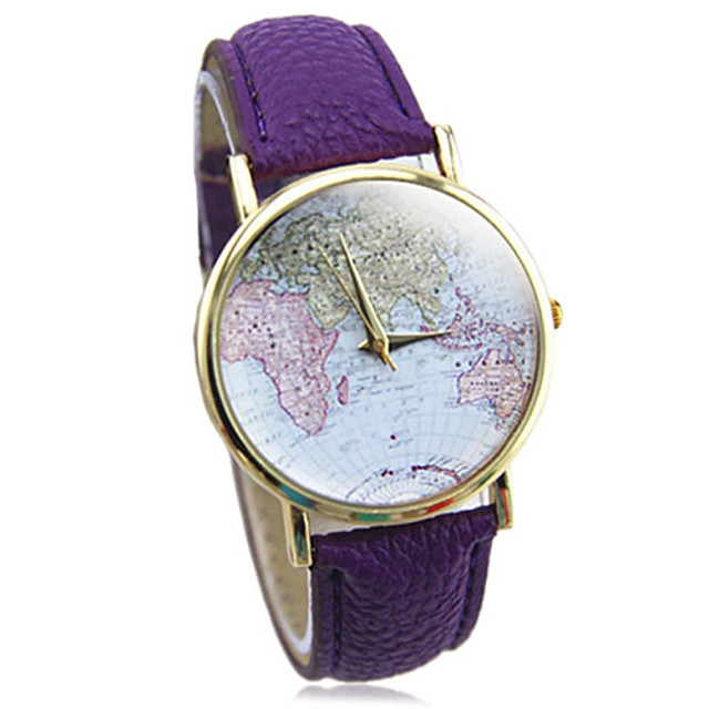 Women's Multicolor Print Bohemia Style PU Leather Band Analog Quartz Wrist Watch (Assorted color) Cool Watches Unique Watches