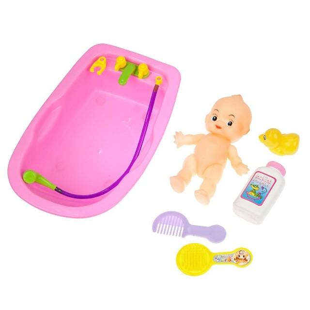 1 Kit 6pcs Kids Childrens Useful Bath Baby Toy Set Developmental Cool Toy Hot(Rondom Colors)