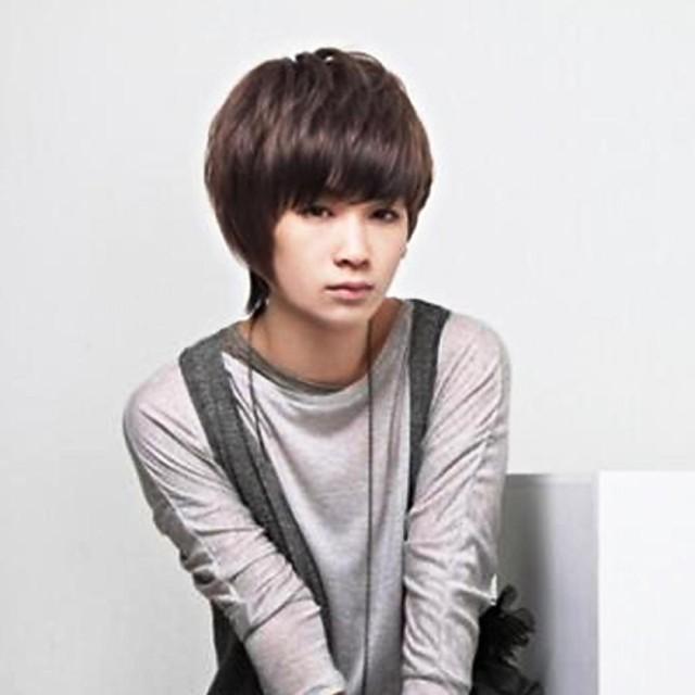 Synthetic Wig Style Wig Dark Brown Wig Short Men S Wig 2850383 2020 23 71