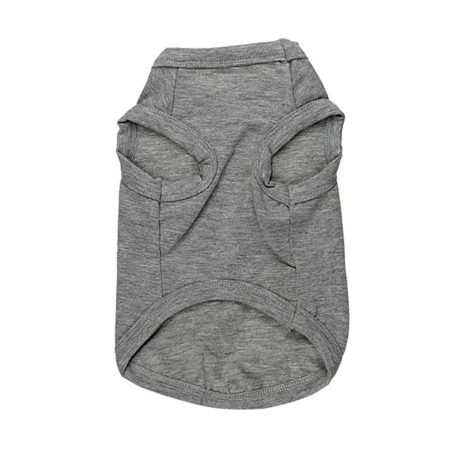 Cat Dog Shirt / T-Shirt Dog Clothes 1# 2# Costume Cotton XS S M L