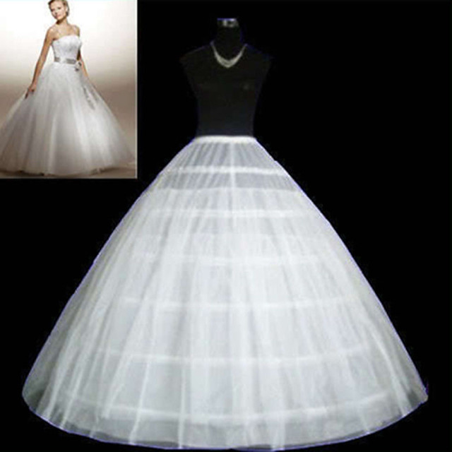 Wedding / Special Occasion / Party / Evening Slips Tulle Floor-length Ball Gown Slip / Classic & Timeless with