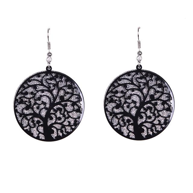 Women's Drop Earrings Dangling Dangle Ladies Earrings Jewelry Black / Silver For Wedding Party Daily Casual Sports
