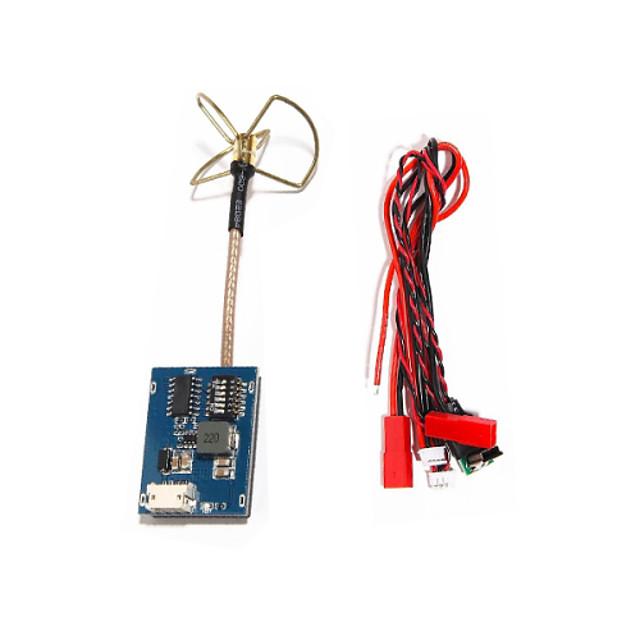 FPV 5.8GHz 32CH 200mW AV Transmitter SKY-8200 TX Module 3 Blades Clover Antenna