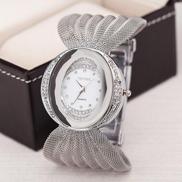 Women's Luxury Watches Bracelet Watch Analog Quartz Ladies Imitation Diamond