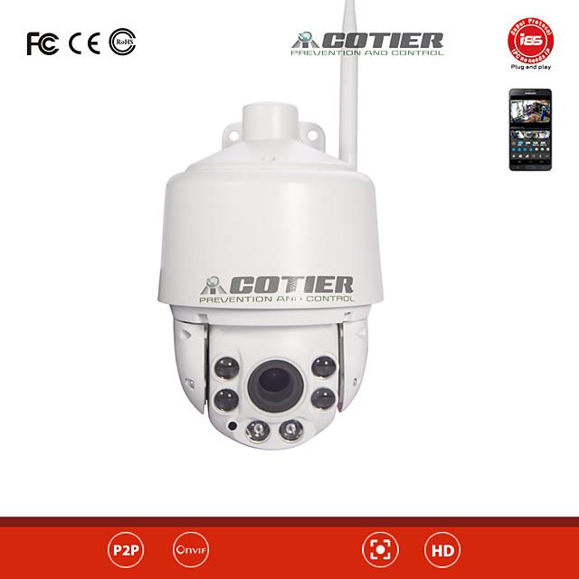 Cotier 2 mp Caméra IP Extérieur Soutien 256GB / CMOS / Adresse IP statique / iPhone OS / Android / Jour Nuit