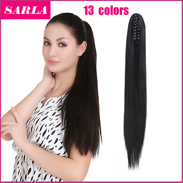 Synthetic Ponytail Long Exotic Ponytail with Handmade Knitted Braids Purple Color with Elastic Hair Extensions Festival Accessories