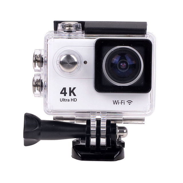 EOSCN H9 Sports Action Camera Gopro Gopro & Accessories Outdoor Recreation vlogging WiFi / 4K 32 GB 12 mp 4x 2560 x 1920 Pixel / 3264 x 2448 Pixel / 4000 x 3000 Pixel 2 inch CMOS H.264 Single Shot