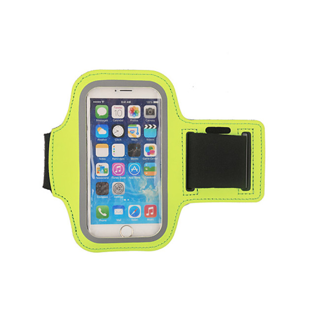HAISKY Armband Cell Phone Bag Running Pack for Running Racing Cycling / Bike Jogging Sports Bag Touch Screen Wearable Phone / Iphone Terylene Running Bag / iPhone X / iPhone XS Max / iPhone XS