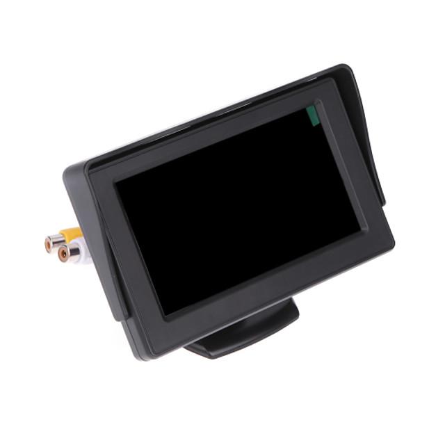 DearRoad LCD Car Reverse Rearview Monitor Color Camera DVD VCR Remote Control 4.3' TFT