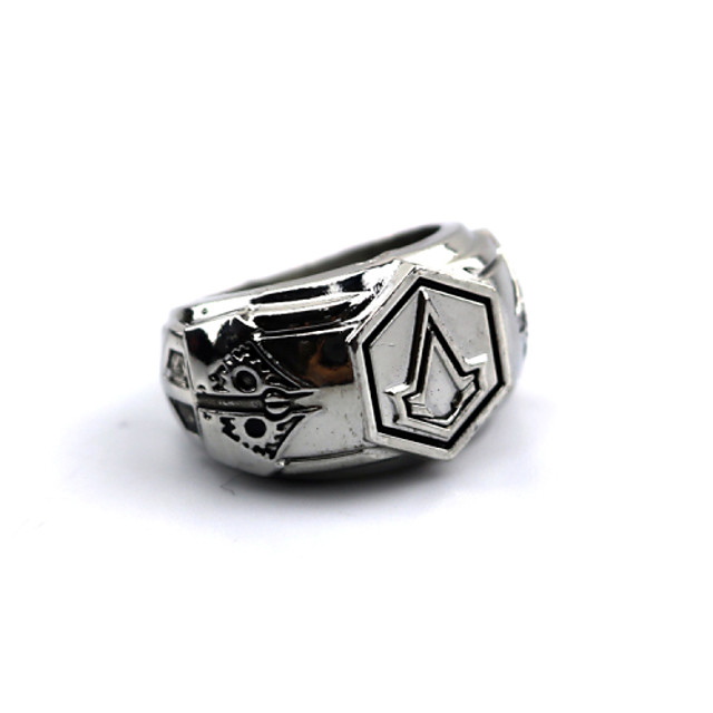 Jewelry Inspired by Assassin Connor Anime / Video Games Cosplay Accessories Ring Alloy Men's 855