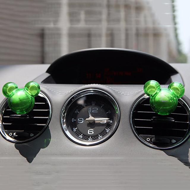 2pcs Random Shape Fragrance Car Vent Air Freshener Outlet Perfume