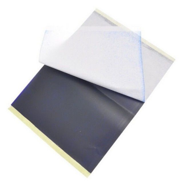 BaseKey 25 Sheets x Tattoo Thermal Carbon Stencil Transfer Paper Tracing Kit A4